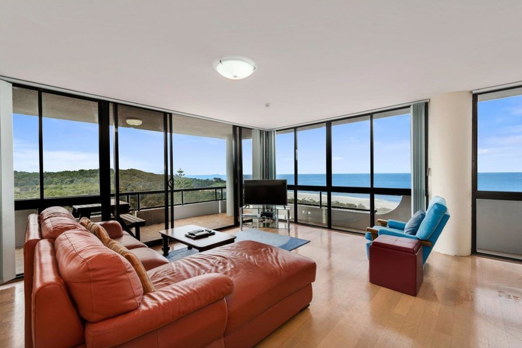 Ocean view accommodation Coffs Harbour