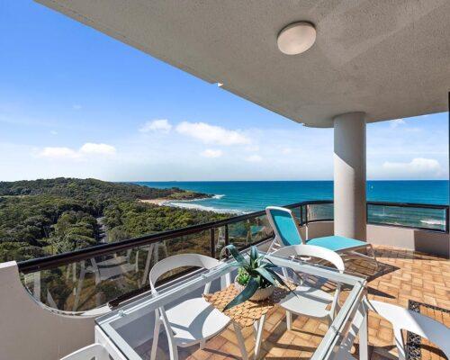 Coffs Harbour beachfront accommodation